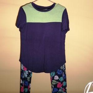 Lissome ladies, 2 piece pajamas, Size Small